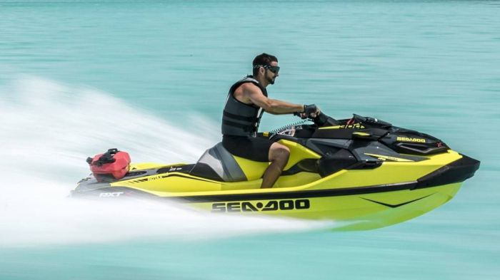 Full power Jetski in ibiza