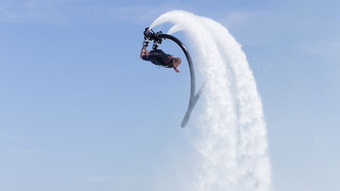 Flyboarding in Ibiza